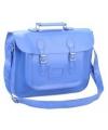 Blauwe boekentas